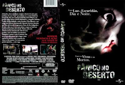 Filme Pânico no Deserto DVD Capa