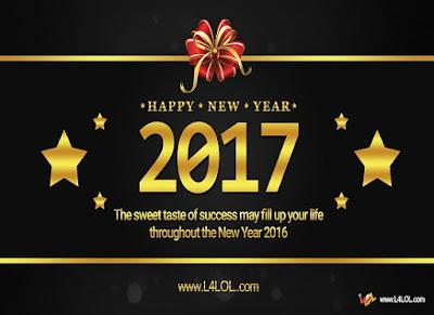 2017 Happy New Year HD Wallpaper