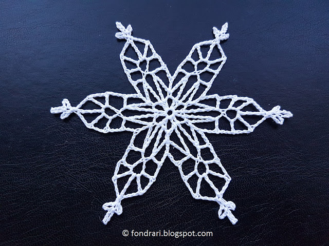 Salmon Glacier Snowflake