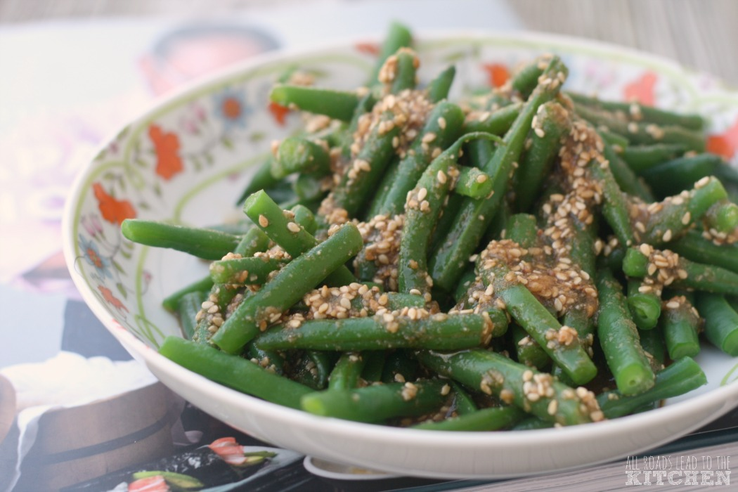 Green Beans with Sesame Dressing (Ingen no goma-ae) | #JapaneseHomeCooking