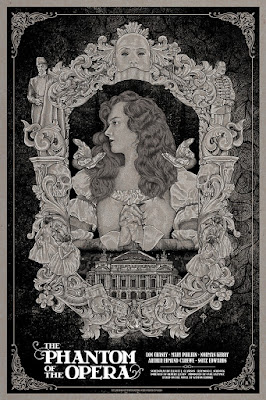 The Phantom of the Opera Movie Poster Screen Print by Timothy Pittides x Mad Duck Posters – Regular Edition
