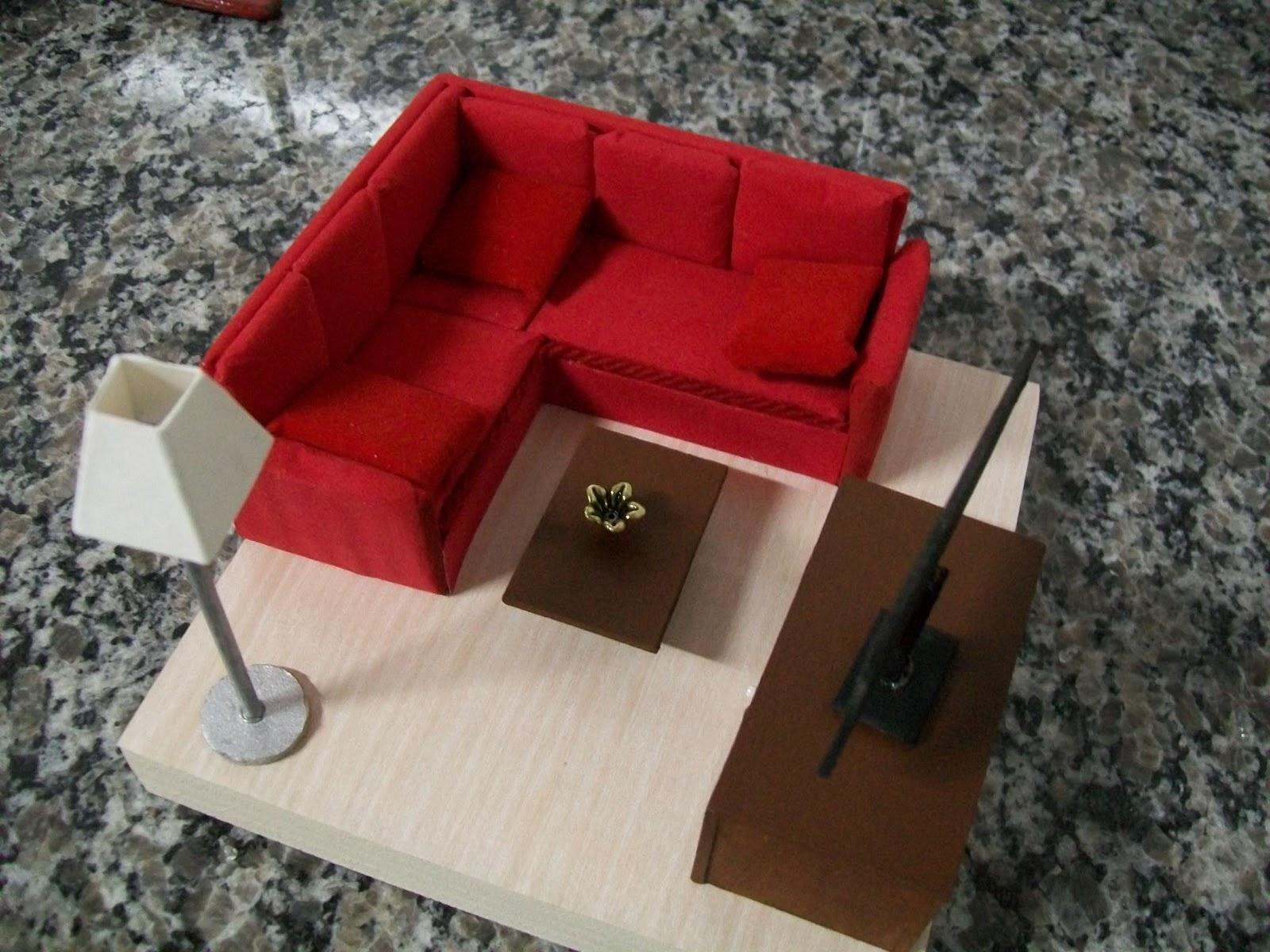 Casa do Imaginrio  Maquete  Sala de Visitas