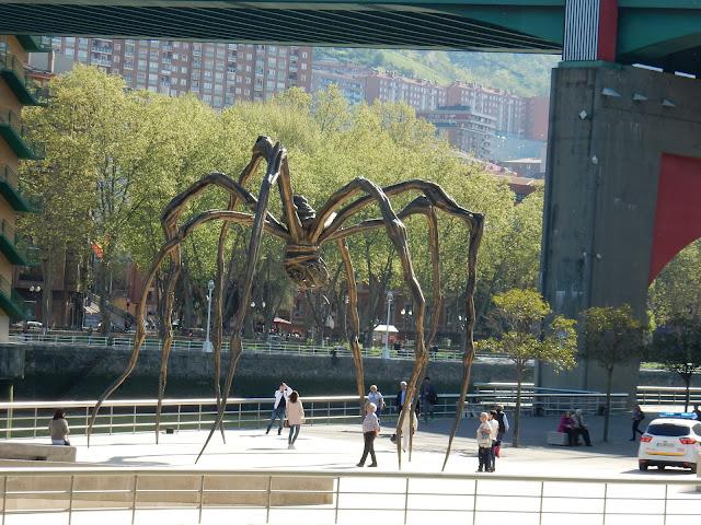 Maman, Mamá, Louise Bourgeois, Guggenheim Museum, Bilbao, España, Elisa N, Blog de Viajes, Lifestyle, Travel
