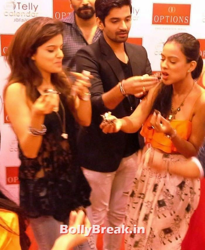 Rubina Dilaik, Nia Sharma, TV Actresses Visit Option's Mall