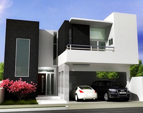 Gambar Rumah Minimalis Modern di Perkotaan