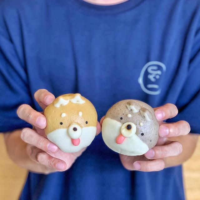 台南中西區美食【豆弄.手作】可愛柴犬饅頭