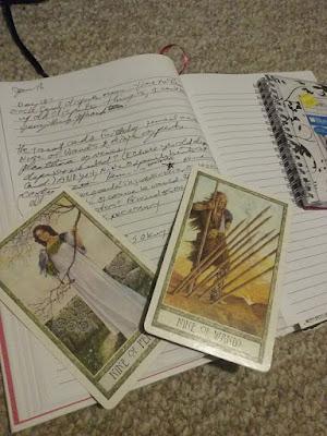 journals belonging to Juli D. Revezzo, photo by Juli D. Revezzo