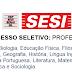 SESI abre Processo Seletivo para Professores (Todas as Disciplinas)