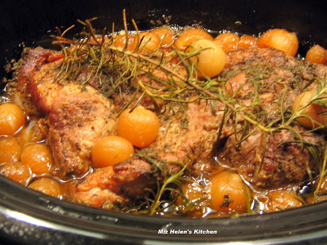 Slow Cooker Rosemary Pork Roast at Miz Helen's Country Cottage