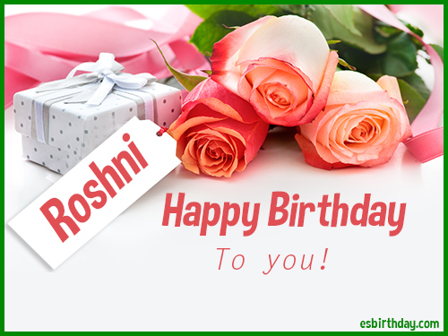 Cake Images With Name Roshni : Happy Birthday Roshni - Happy Birthday images for Name