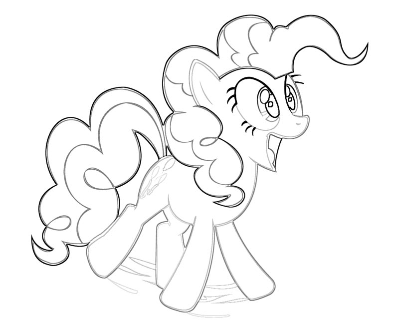 My Little Pony Pinkie Pie Coloring Pages - Free Coloring Pages