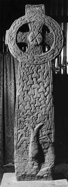 Anglo Saxon cross from the North of England