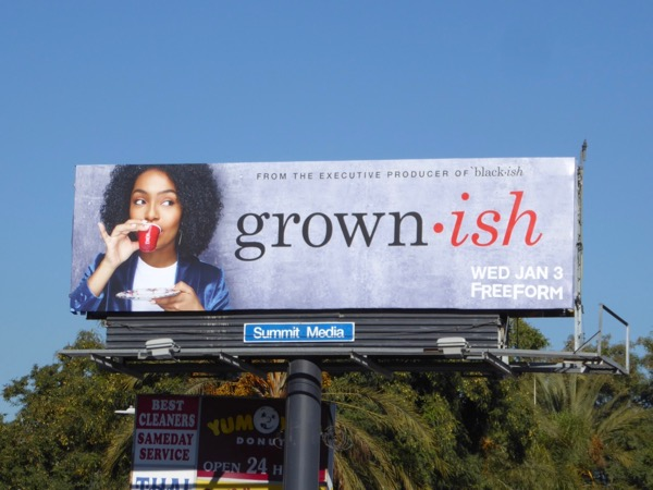 Grownish series premiere billboard