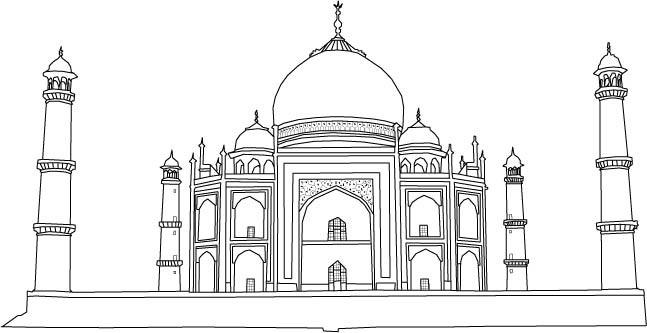 Lomba Mewarnai Masjid Anak Tk Gambar Mewarnai