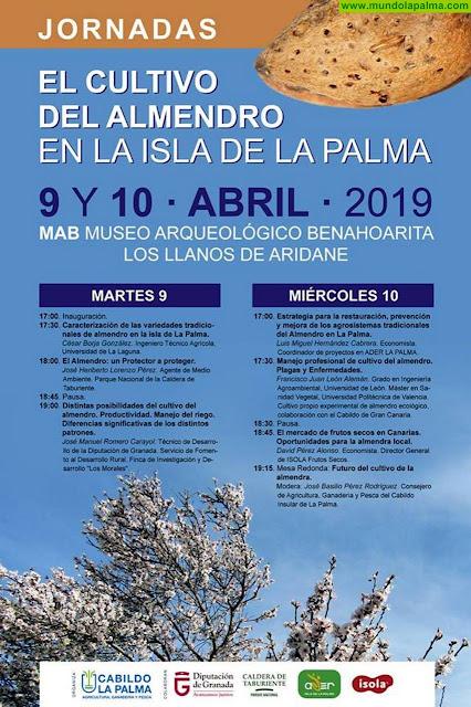 """Jornadas """"El cultivo del almendro"""" en la isla de La Palma"""