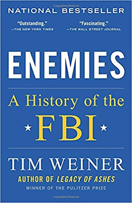 Enemies: A History of the FBI by Tim Weiner (Book cover)