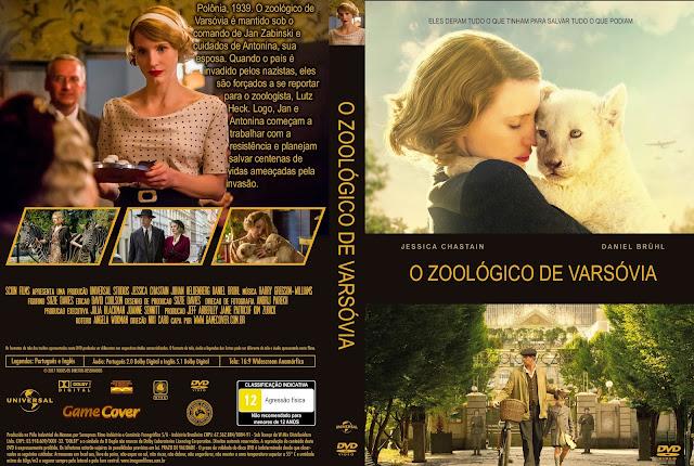 Capa DVD O Zoológico De Varsóvia [Exclusiva]
