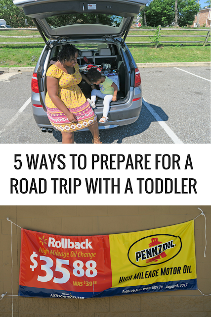5 ways to prepare for a road trip with a toddler
