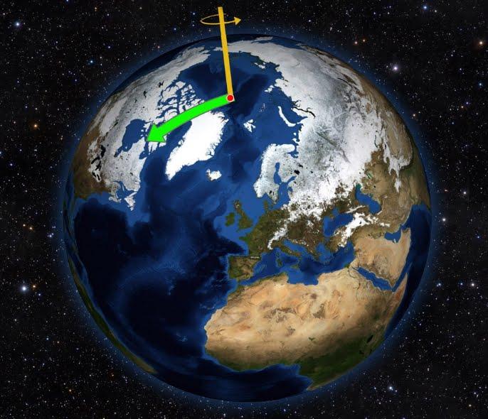 Il Cambio Climatico sta intensificando l'oscillazione naturale della TERRA.