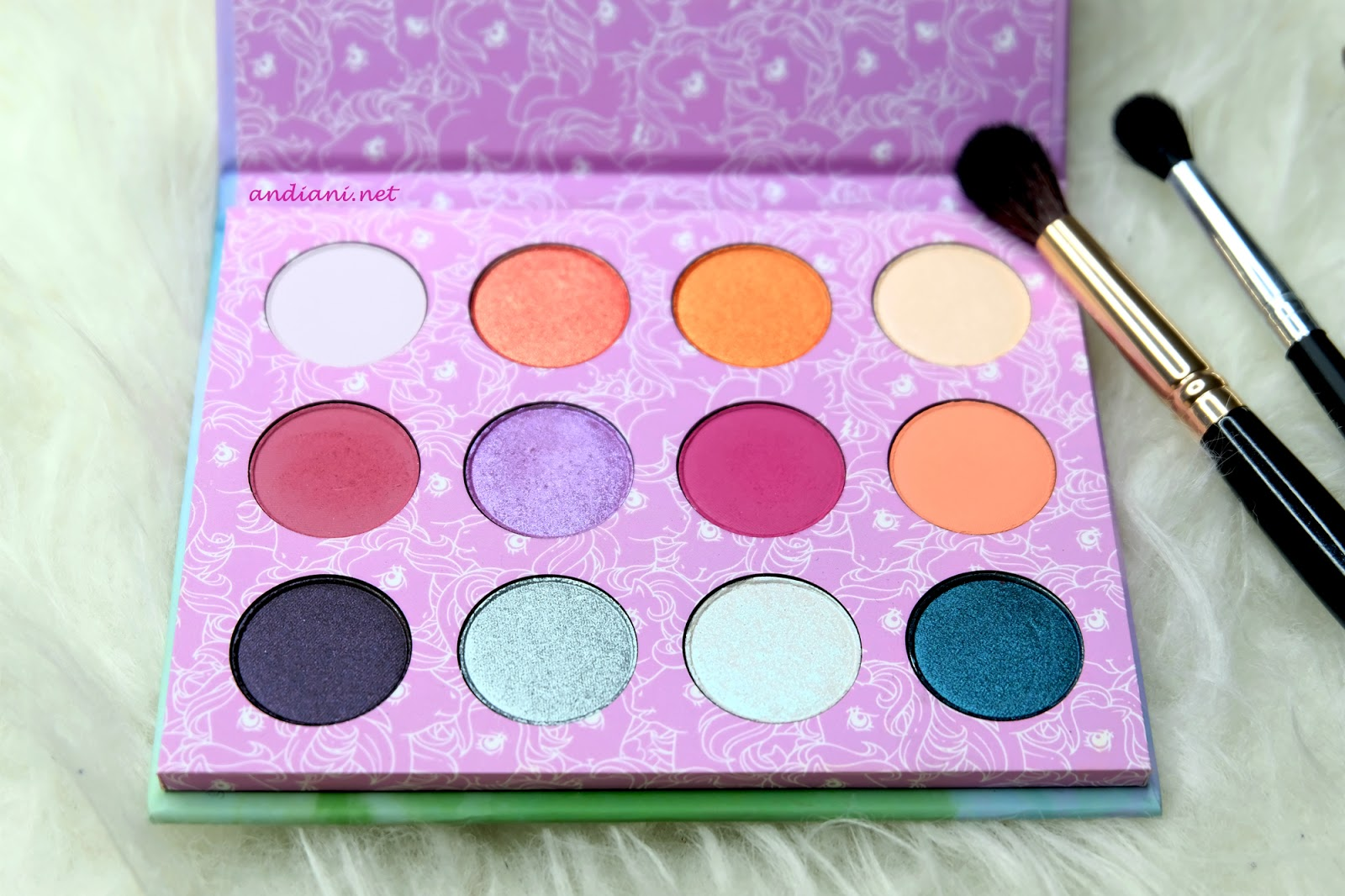 Review Colourpop My Little Pony | Andiani's Beauty Journal