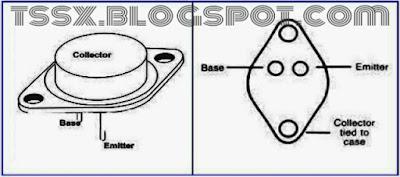 Menentukan Kaki Transistor