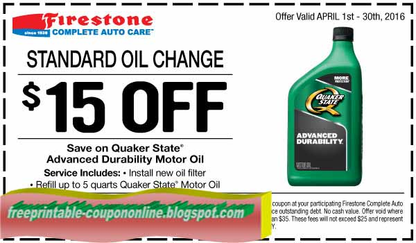 Firestone date code on tire 2017 2018 2019 ford price for Printable motor oil coupons 2017