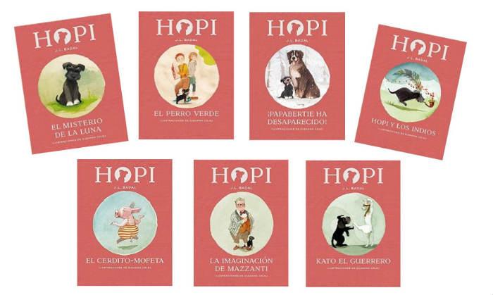colección hopi badal libros infantiles con capítulos