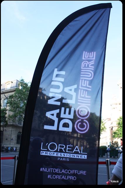 Nuit de la coiffure de l'Oréal Professionnel à Paris