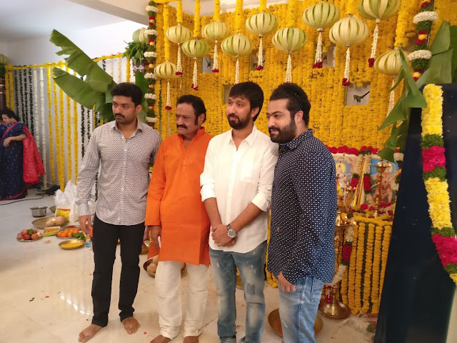 Jr NTR New Movie Launch Photos