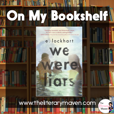 In We Were Liars by E. Lockhart, Cadence is spending the summer on her family's island, trying to recover from a head injury and amnesia. She is looking forward to spending time with her cousins and friends, but as she spends more time on the island, she remembers more and more about the terrible injury that caused her memory loss. Read on for more of my review and ideas for classroom application.