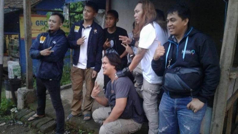Syahril Sidik sempat berfoto narsis saat ditangkap