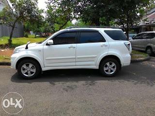 jual Toyota Rush G AT (Matic) Tahun 2014 Warna Putih