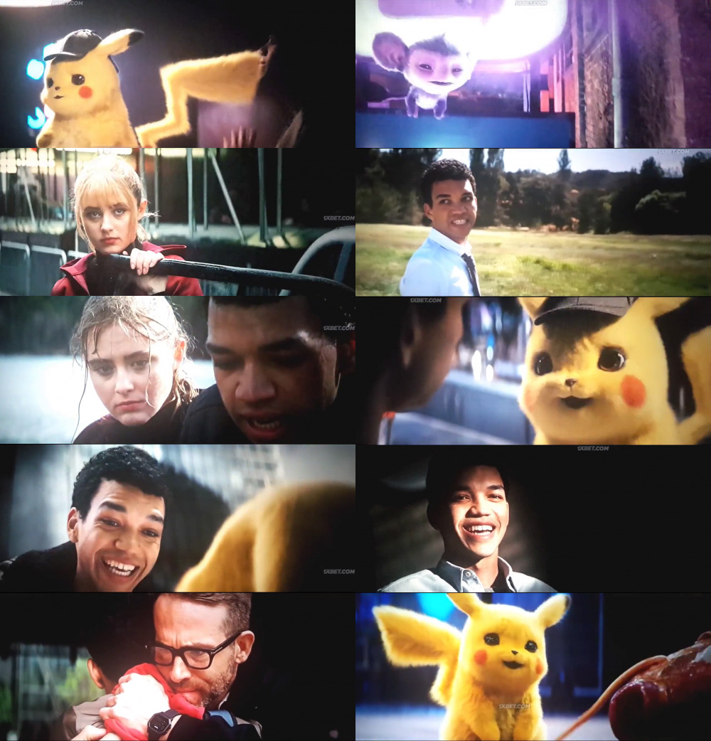 Pokémon Detective Pikachu 2019 Movie Screenshots