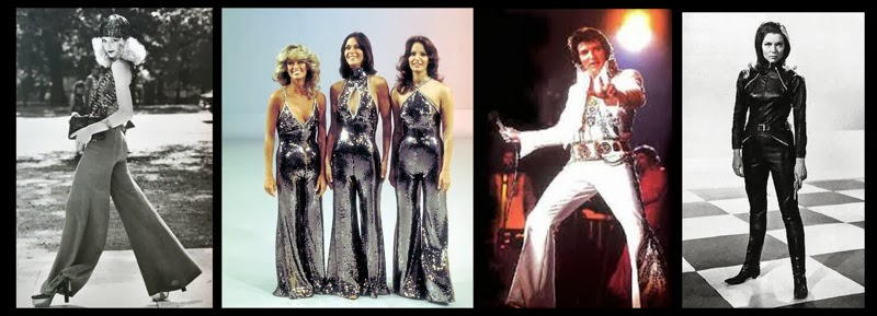 a8d952f9a9ec Although I am sure Elvis would declare himself king of the jumpsuit and all  of Charlie s Angels the Queen s court