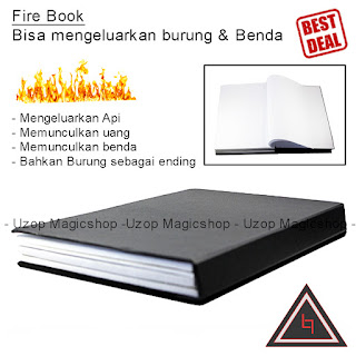 Jual alat sulap Dove and Fire Book
