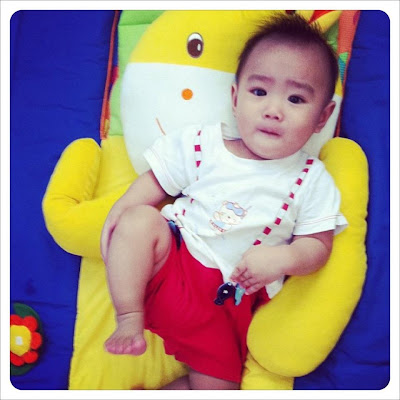 9 months old baby gian