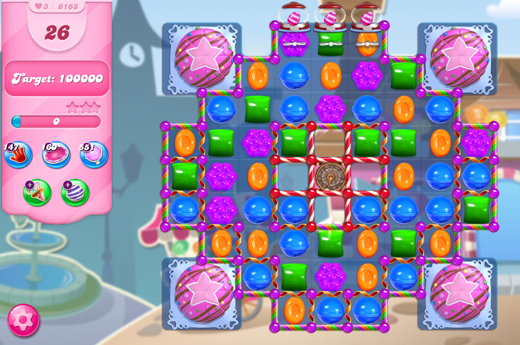 Candy Crush Saga level 6163