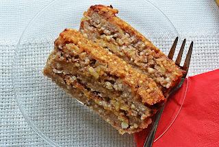 Gryka Cake - ciasto z kaszy gryczanej i jabłek