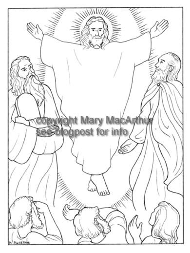 Snowflake Clockwork: Transfiguration coloring page