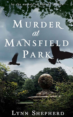 Front cover of Kindle version of  Murder at Mansfield Park   by Lynn Shepherd (2011)