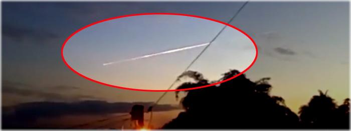 meteoro super brilhante observado em plena luz do dia no Acre