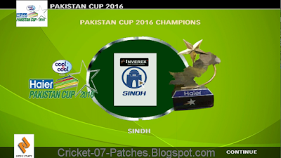 Pakistan Cup 2016 Patch For Cricket 07