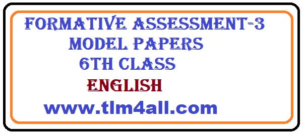 English test paper class 9 fa3/sa2 youtube.