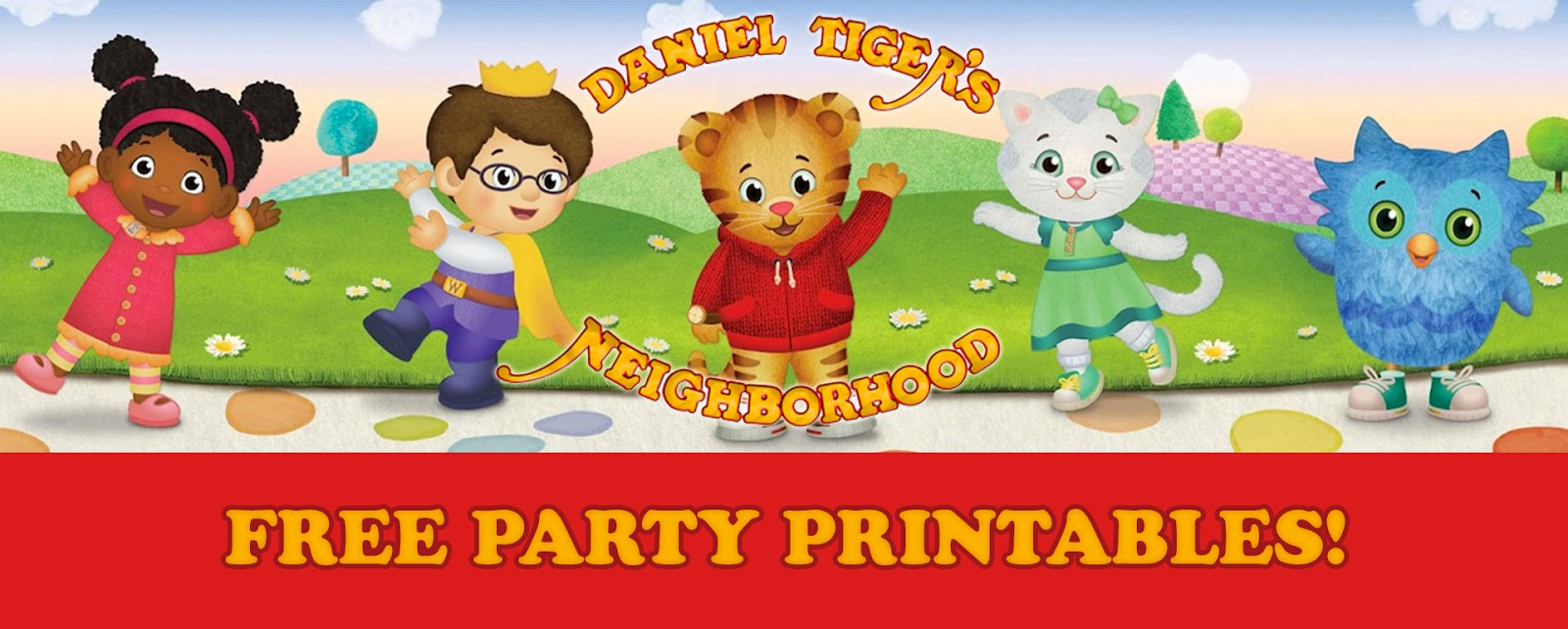 picture about Daniel Tiger Printable titled Daniel Tiger Birthday Social gathering Printables Totally free Downloads