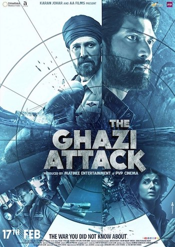 The Ghazi Attack 2017 Hindi pDVDRip x264 700MB Audio Cleaned