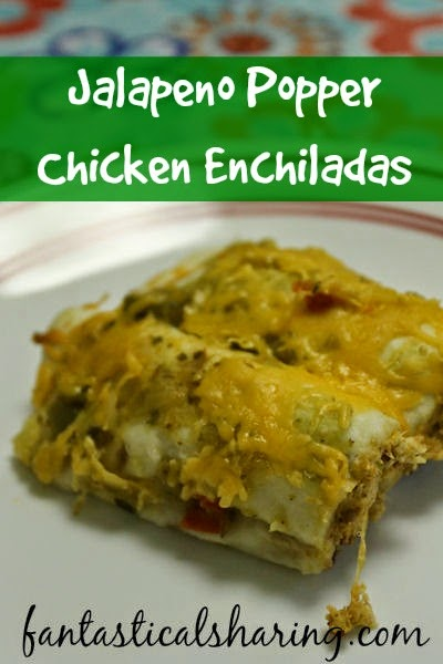 Jalapeno Popper Chicken Enchiladas | Regular enchiladas are pretty good, but these jalapeno popper enchiladas are quite the meal! #enchiladas #jalapeno #recipe