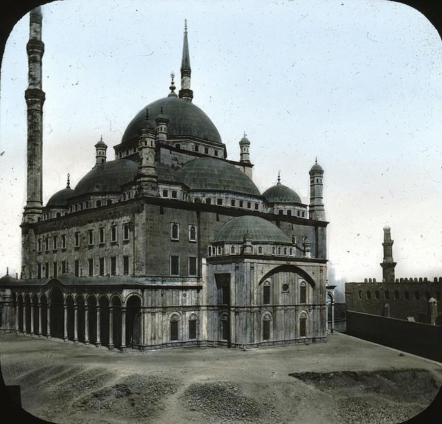 Egypt - Mosque of ali Mehemet, Cairo. Brooklyn Museum Archives.