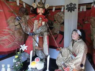 天王祭山車人形