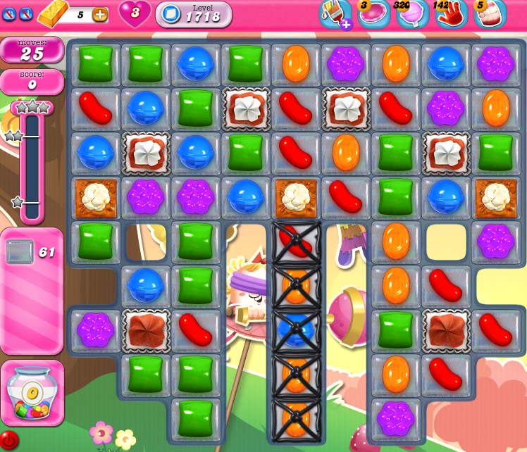 Candy Crush Saga 1718