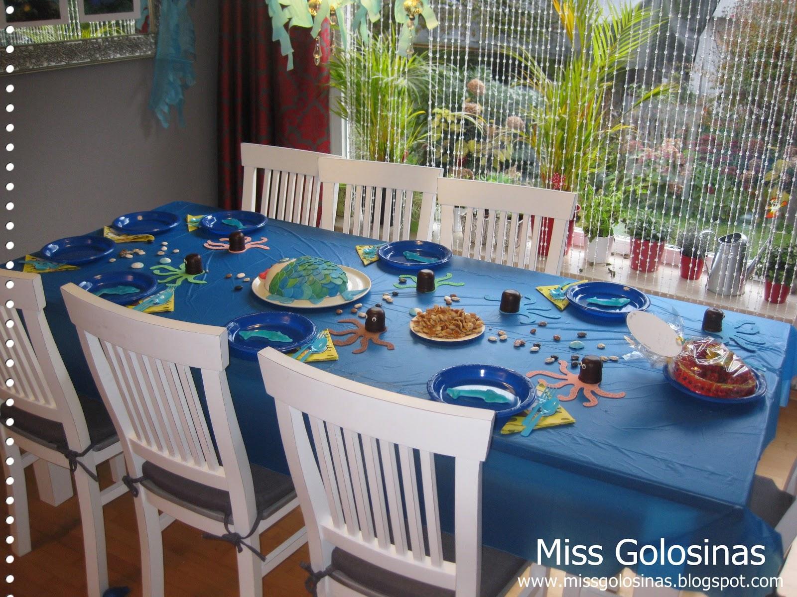 Miss Golosinas Unter Wasser Party 2 Essen Deko